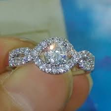 diamonique wedding rings cubic zirconia diamonique promotion shop for promotional cubic