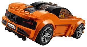 orange mclaren 720s lego 75880