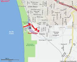 Pismo Beach Map Local Hospital And Sheriff