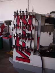 extra cat 40 tool storage on haas mills