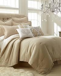 Comforter Store 3 Piece Natural Linen Blend Comforter Set Comforters Bedding Bed