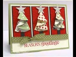 scrapbooking making ideas for christmas cards youtube