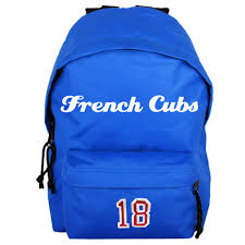sac enfant personnalisable sac a dos french cubs personnalise 417 feet