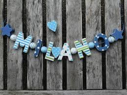 buchstaben für kinderzimmer namenskette shabby chic holz buchstaben holzbuchstaben
