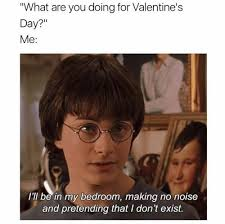 Harry Potter Valentines Meme - the 19 loneliest memes about being single on valentine s day smosh