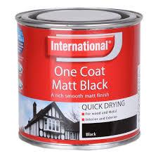 one coat 250ml matt black amazon co uk diy u0026 tools