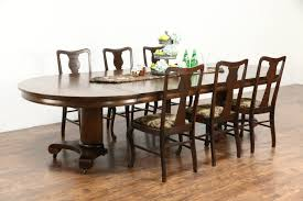 Round Dining Room Tables For 10 Sold Round 54