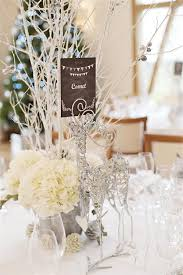 table center pieces 40 stunning winter wedding centerpiece ideas deer pearl flowers