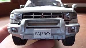 old mitsubishi montero up close look 1 18 mitsubishi pajero exceed by autoart youtube