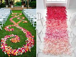 petal aisle runner omber petal aisle runner ideas for indoor and outdoor wedding