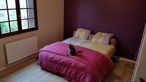 couleur aubergine chambre chambre aubergine et gris trendy size of meuble amenagement