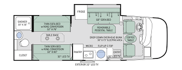 Thor Fifth Wheel Floor Plans by Floor Plans Axis 25 5