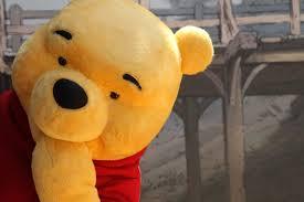 winnie the pooh meme winnie dancing time