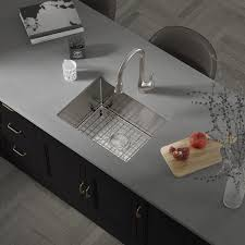metal kitchen sink and cabinet combo allora usa kh 2718 combo 27 x 18 x 10 handmade