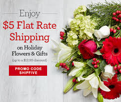 ship flowers 1 800 flowers 5 flat shipping guaranteed delivery by christmas