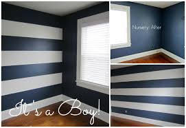 good gone glam nursery gender reveal and how to paint stripes