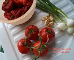 tomates cuisin s salade de poivrons rouges et tomates dans la cuisine de françoise