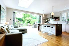 kitchen diner extension ideas kitchen family room extension awesome kitchen family room