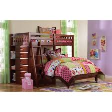 Bunk Beds  Full Over Full Bunk Beds With Trundle And Stairs - Walker edison twin over full bunk bed