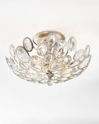 3 light flush mount ceiling light fixtures crystal ovals 3 light flush mount ceiling fixture neiman marcus