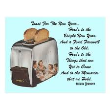 Toaster Retro Retro New Year Pun Postcard Vintage Toast Toaster Zazzle Com