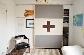 How To Build A Sliding Barn Door How To Build A Lightweight Sliding Barn Door U2022 Vintage Revivals