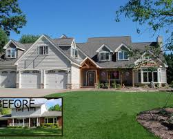 exterior home renovations before after whole house renovations