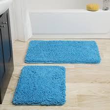 Shag Bathroom Rug Bathmats Rugs Toilet Covers Bath Home Garden