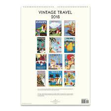 cavallini calendars vintage travel poster calendar 2018 cavallini papers co