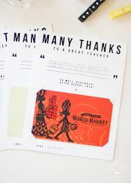 12 printable gift card holders for teachers cool picks