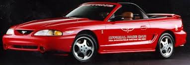 mustang of indianapolis indypacecars com 1994 pace car ford mustang