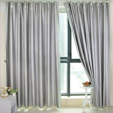 Soundproofing Curtain Polyester Material Green Flower Curtains Of Country Style