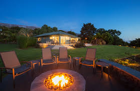 How To Install Outdoor Lighting by 6 Reasons To Install A Fire Pit In Your Backyard Asphalt Materials
