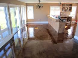 Concrete Kitchen Floor by 13 Best Floors Images On Pinterest Polished Concrete Concrete