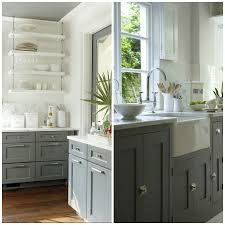 two tone kitchen cabinets brown 6 gray shades for a kitchen that are surprising big chill