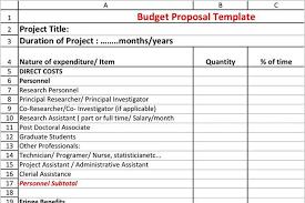 budget proposal template download free u0026 premium templates
