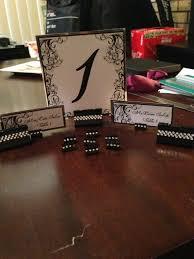 Diy Table Number Holders Diy Binder Clip Placecard And Table Holders Weddingbee Photo