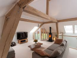 attic interiors living room decor neutrals modern