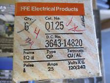 siemens q125 25 amp 1 pole 120 volt circuit breaker 783643148208