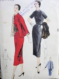 easy to make slim dress jacket pattern classic style vogue sewing