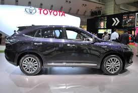 harrier lexus 2010 toyota harrier gets a whale of a facelift