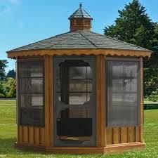 Gazebo Screen House Kit by Outdoor Gazebo Kits Patio Or Garden Gazebos Wooden Screened