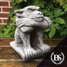 grumpy gargoyle garden ornament mould brightstone moulds