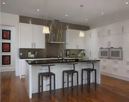 metal backsplash as stylish design idea for kitchen interior