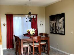 awesome dining room drapery photos home design ideas