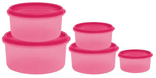 buy princeware sf round package container set 5 pieces online at