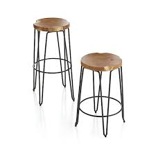 origin bar stools crate and barrel for breakfast bar home
