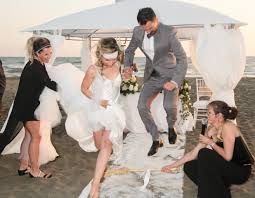 jumping the broom wedding celebrancy comes to italy wanted in rome