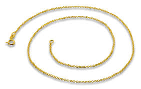 gold sterling silver necklace images 14k gold plated sterling silver 14 quot cable chain necklace 1 2mm gif