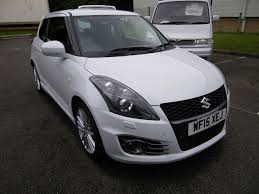 used suzuki swift sport white cars for sale motors co uk